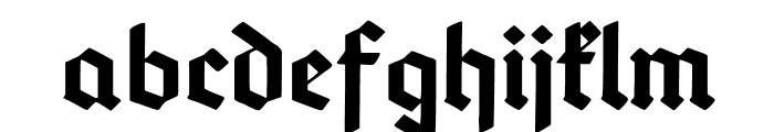 DeutschGotisch Font LOWERCASE