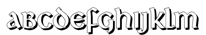 Deutsche Uncialis Shadow Font UPPERCASE