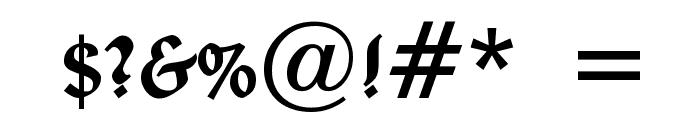 Deutsche Uncialis Font OTHER CHARS
