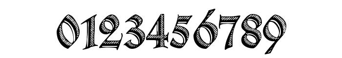 Deutsche Zierschrift Font OTHER CHARS