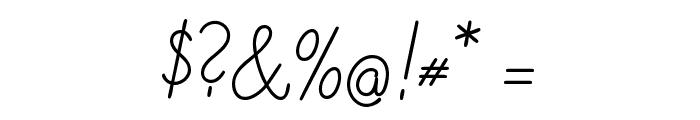 DeutscheNormalschriftOT Font OTHER CHARS