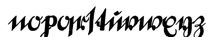 DeutscheSchrift-Callwey Font LOWERCASE