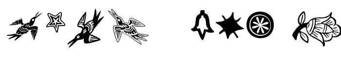 DeutscherSchmuck Font OTHER CHARS