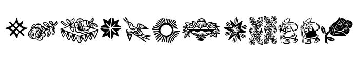 DeutscherSchmuck Font LOWERCASE