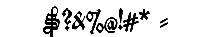 Deutschische Font OTHER CHARS
