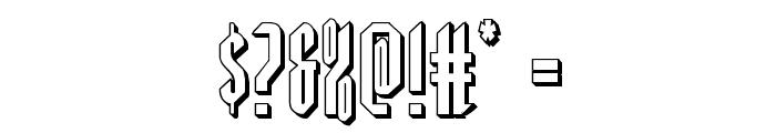 Devil Summoner 3D Font OTHER CHARS