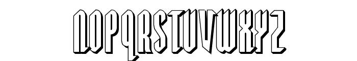 Devil Summoner 3D Font UPPERCASE
