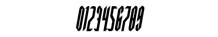 Devil Summoner Condensed Italic Font OTHER CHARS