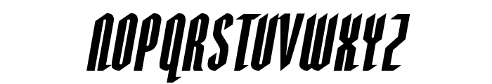 Devil Summoner Expanded Italic Font LOWERCASE