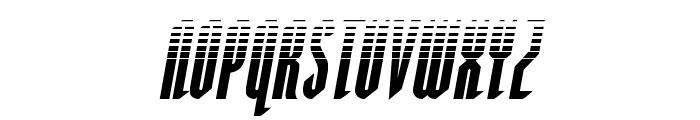 Devil Summoner Halftone Italic Font LOWERCASE