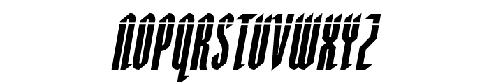 Devil Summoner Laser Italic Font LOWERCASE