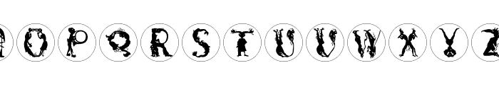 DevilsAlphabets Font LOWERCASE