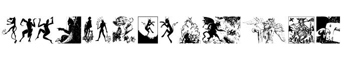 Devils Font LOWERCASE