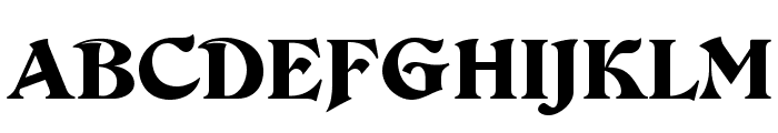 DevinneOpti-Ornamented Font UPPERCASE