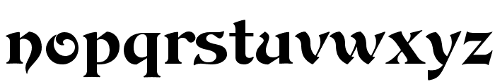 DevinneOpti-Ornamented Font LOWERCASE