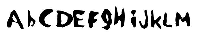 Devotion Font LOWERCASE