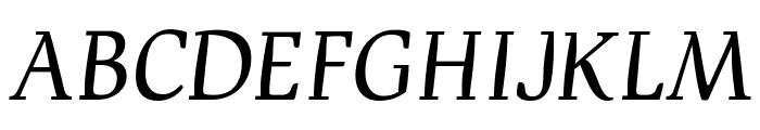 Devroye SCOSF Font UPPERCASE