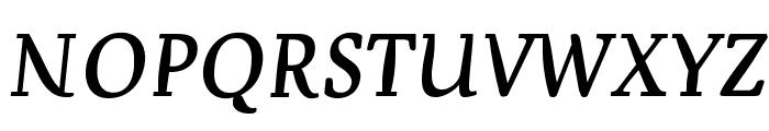 Devroye SCOSF Font LOWERCASE