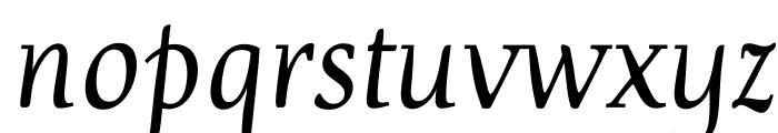 Devroye Font LOWERCASE