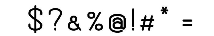 Dewberry Bold Font OTHER CHARS
