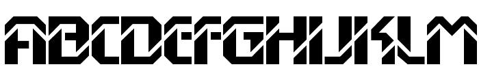 DexGothicD Font UPPERCASE