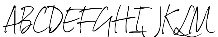 DexteraTrial Font UPPERCASE