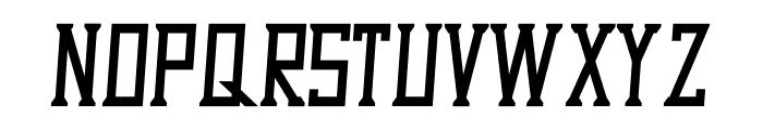 Dezert Italic Font UPPERCASE