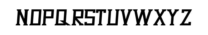 Dezert Italic Font LOWERCASE