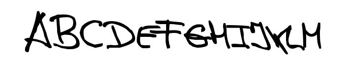 de Manu 1 Medium Font UPPERCASE