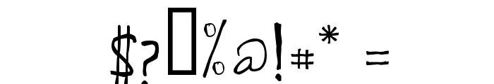 de Manu 1 Normal Font OTHER CHARS