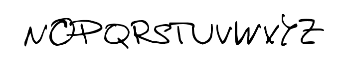 de Manu 1 Normal Font UPPERCASE