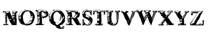 deLorimier Regular Font UPPERCASE
