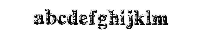 deLorimier Regular Font LOWERCASE