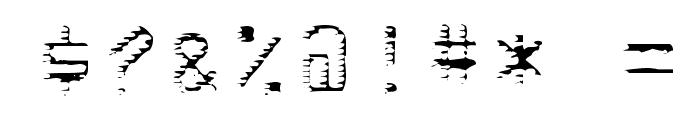 deRez hiTek Font OTHER CHARS