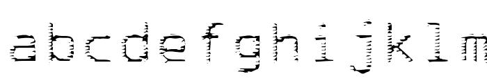 deRez hiTek Font LOWERCASE