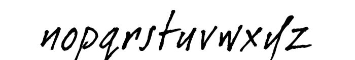 dearJoe 1 M&S Font LOWERCASE