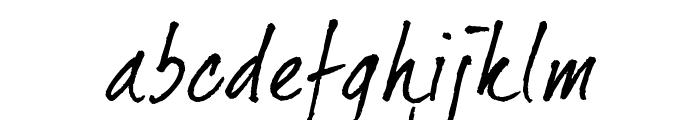 dearJoe 2 Font LOWERCASE