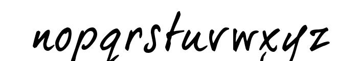 dearJoe 5 CASUAL Font LOWERCASE