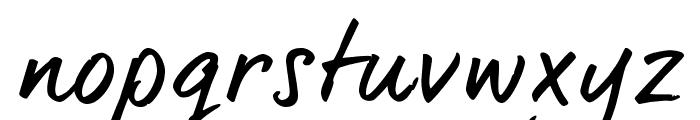dearJoe6TRIAL Font LOWERCASE