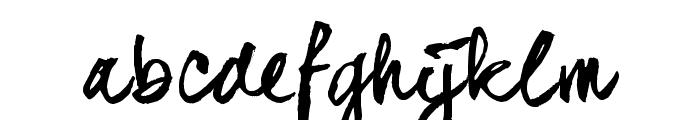 dear_JoeHannes_TRIAL Font LOWERCASE