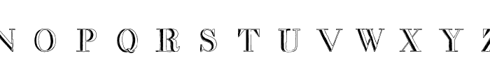 decadence in a different light Font LOWERCASE