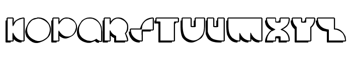 deccodisco_casual Font UPPERCASE