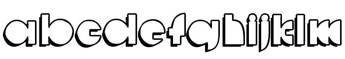 deccodisco_casual Font LOWERCASE