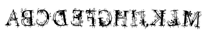 decemberice Font UPPERCASE