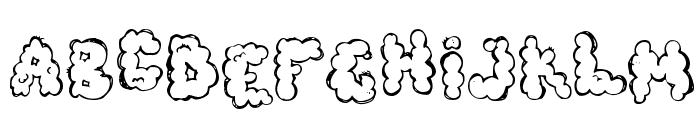 defecafont Font UPPERCASE