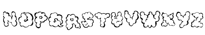 defecafont Font LOWERCASE