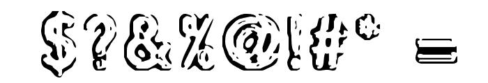 defora Font OTHER CHARS