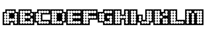 delia Black Font UPPERCASE