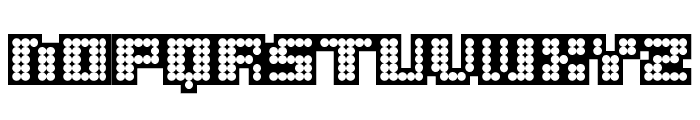 delia Black Font LOWERCASE