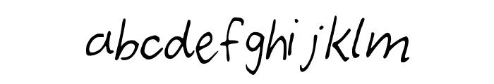 demoi Font LOWERCASE